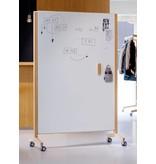 Cascando Cascando Round20 whiteboard met houten frame