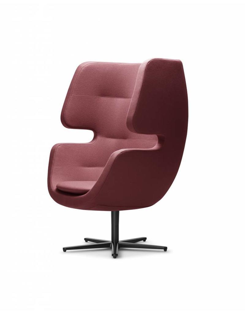Softline Moai lounge fauteuil met draaivoet