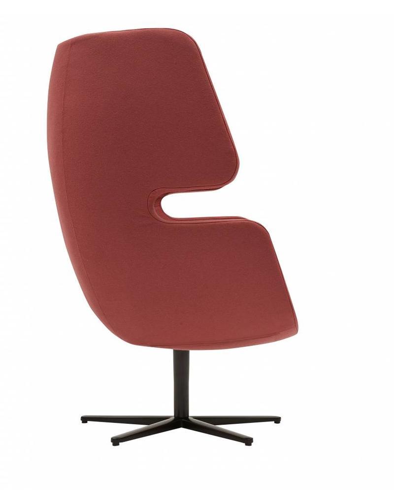 Softline Softline Moai lounge fauteuil met draaivoet