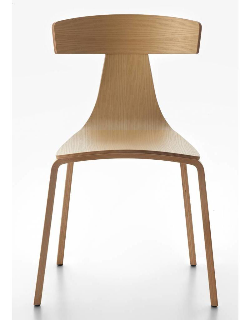 Design Houten Stoelen.Plank Remo Stoel Houten Poten Design Online Meubels