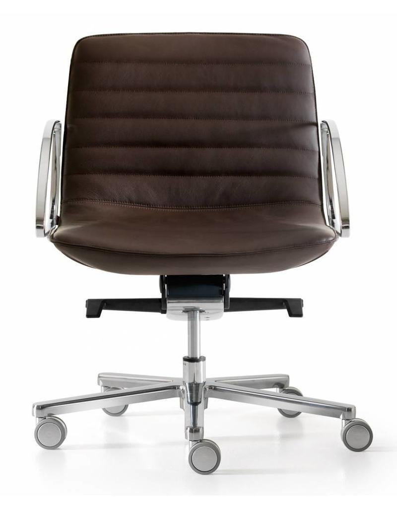 Quinti Quinti Amelie Slim bureaustoel lage rug