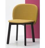 Chairs & More Chairs & More Chips stoel met houten poten