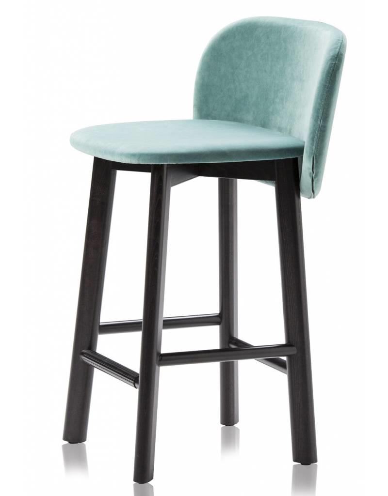 Chairs & More Chairs & More Chips barkruk met houten poten