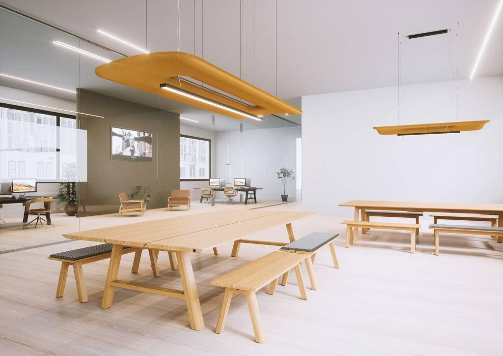Multifunctionele Indoor Picknicktafel : Buzzispace buzzipicnic workbench vergadertafel design online meubels
