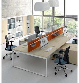 MDD MDD Ogi-Q dubbel bureau met dressoir