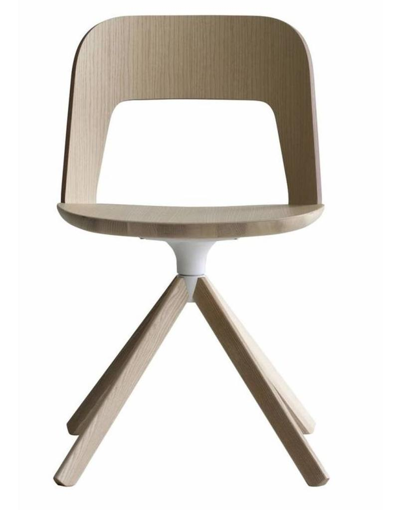 Design Houten Stoelen.Lapalma Arco Houten Stoel Design Online Meubels