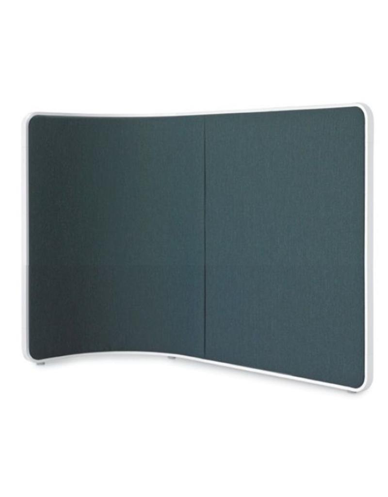 Lapalma Lapalma Screen gebogen modulair akoestisch scherm 121 cm hoog
