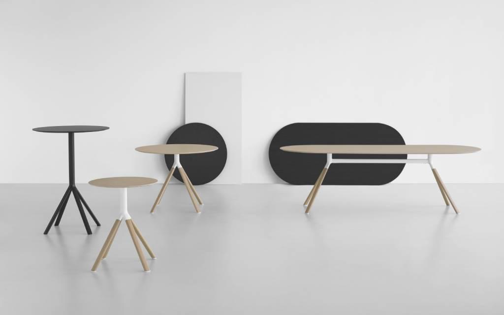 Tafel cm diep bijzet salontafel rechthoek set van zwart metaal en