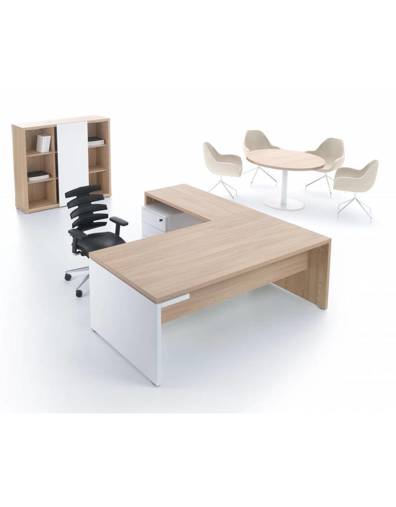 MDD MDD Mito bureau met aanbouw tafel