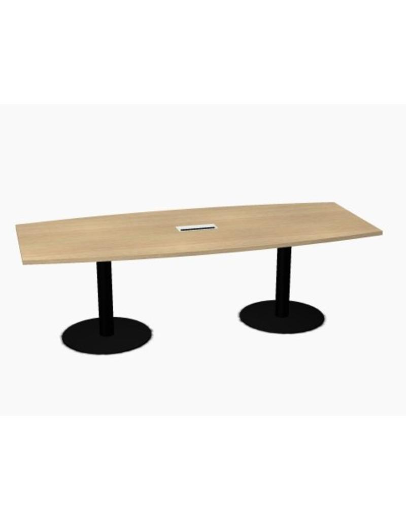 MDD MDD Tack modulaire vergadertafel met ronde poten