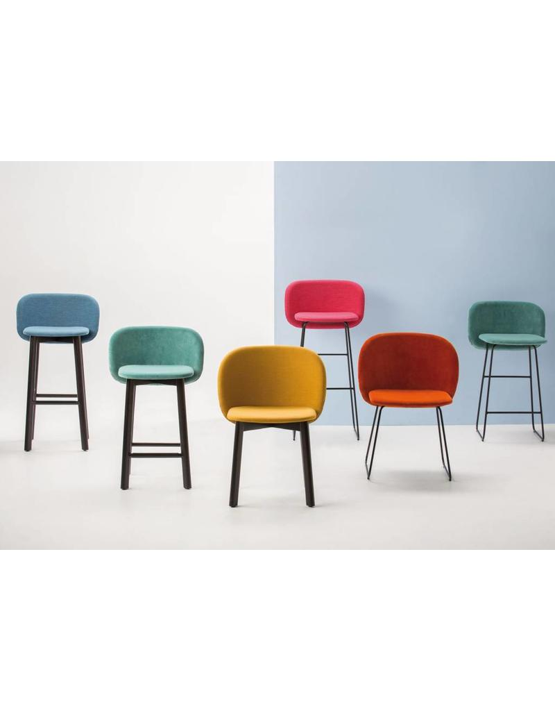 Chairs & More Chairs & More Chips SL stoel met slede frame