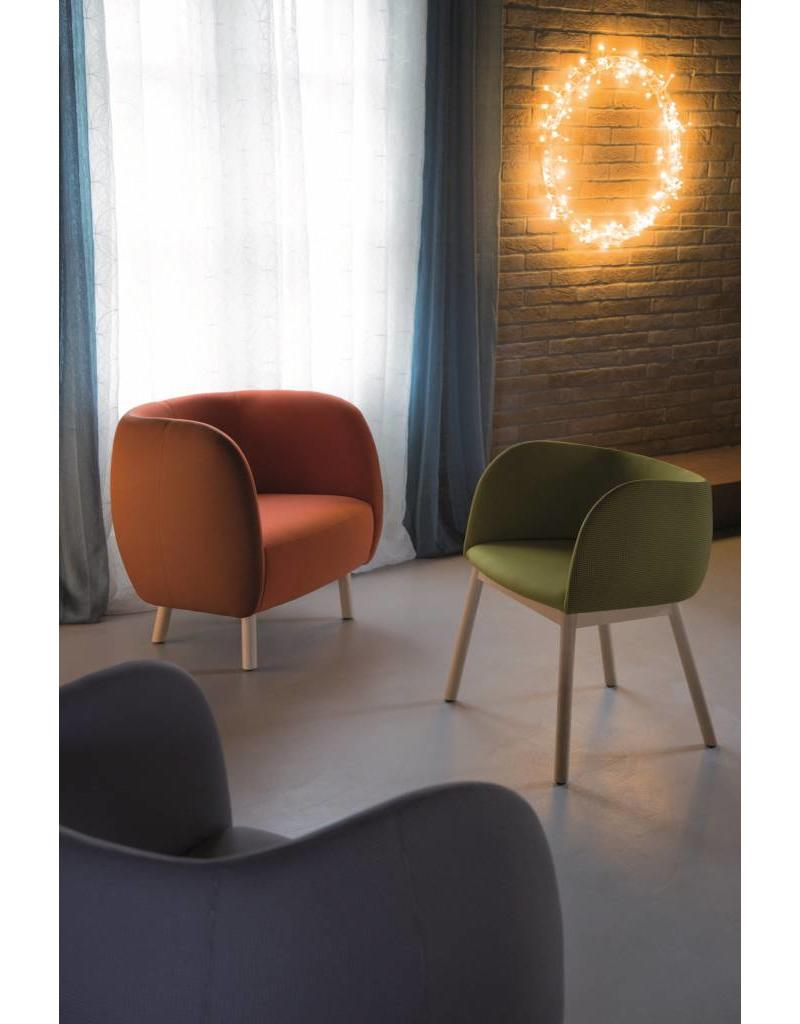 Chairs & More Chairs & More Mousse P ontvangst fauteuil