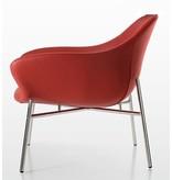 Quinti Quinti Manta lounge stoel met metalen poten