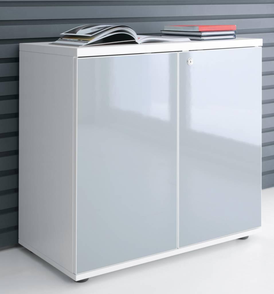 Deuren Voor Schuifkast.Mdd Gloss Kast Met Deuren 113 Cm Hoog Design Online Meubels
