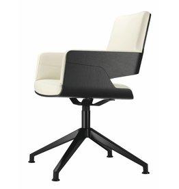 Thonet Thonet S 840 fauteuil (leer)