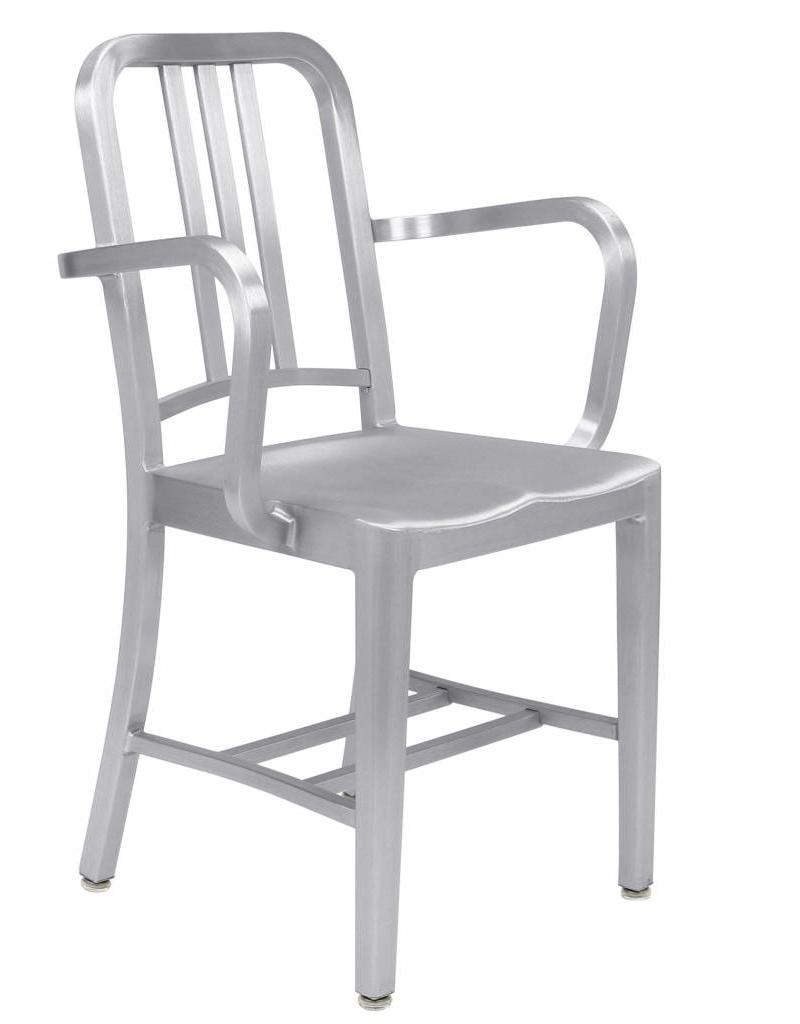 Emeco Emeco Navy armchair, met armleuningen