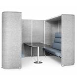Noti Noti Soundroom 2/4 persoons akoestische vergaderruimte met dakje