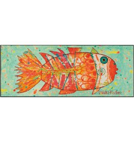 Kleen-Tex Schoonloopmat Funky Fish