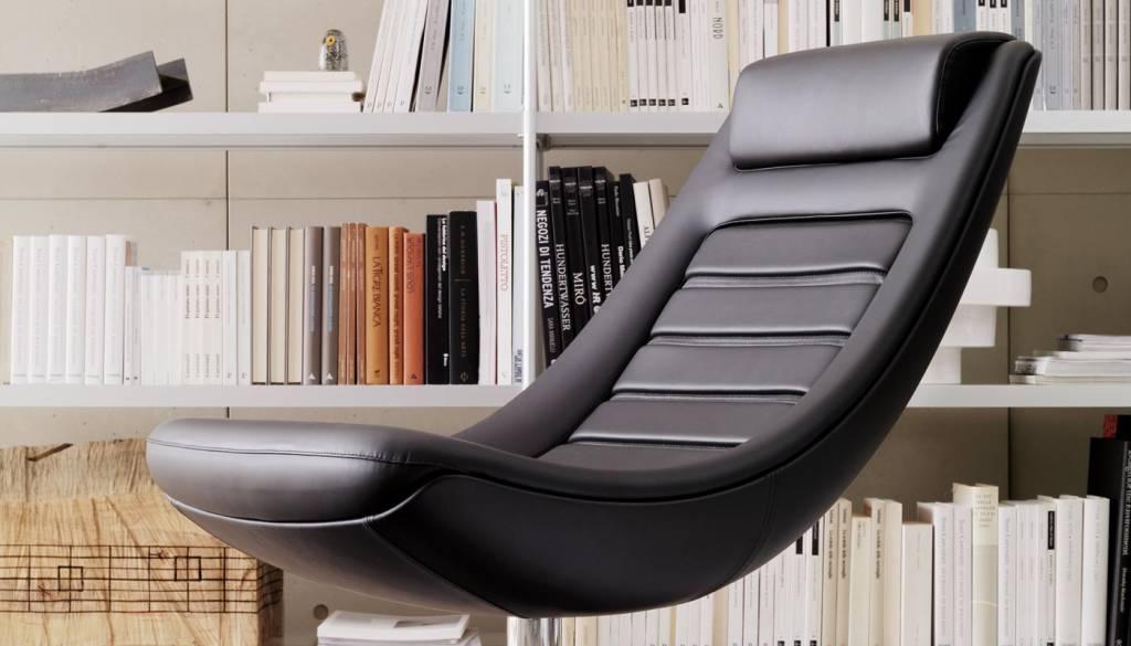 Leren Lounge Fauteuil.Alias Manzu Leren Fauteuil Design Online Meubels