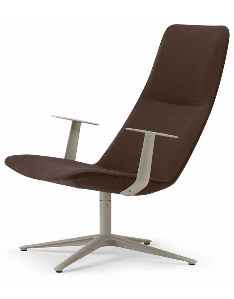 Alias Alias Slim lounge stoel met hoge rug