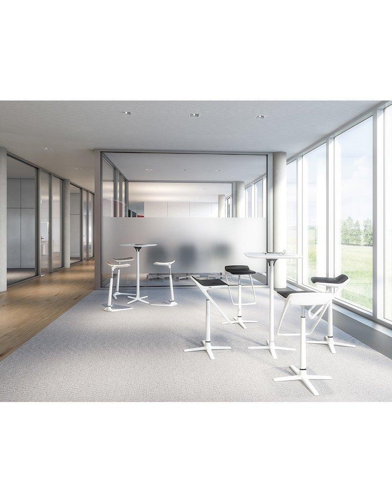 Interstuhl Interstuhl Kinetic sta-tafel, vierkant 70 x 70 cm, optioneel inklapbaar