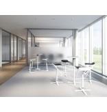 Interstuhl Interstuhl Kinetic sta-tafel, vierkant 60 x 60 cm, optioneel inklapbaar
