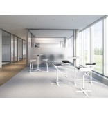 Interstuhl Interstuhl Kinetic sta-tafel, rond ø60 cm, optioneel inklapbaar