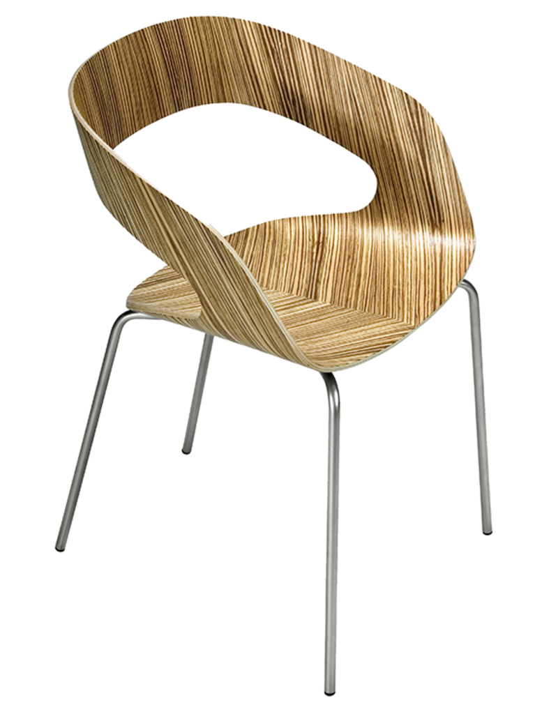 Plycollection Plycollection Chat houten stoel