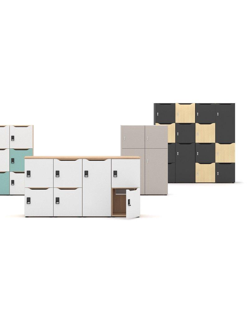 Narbutas Narbutas Choice modulaire kluisjes met brievenbus