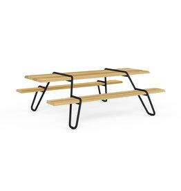 Circulair Clip-board gerecyclede picnic tafel