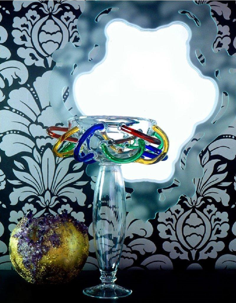 Driade Driade Olga geblazen glazen vaas