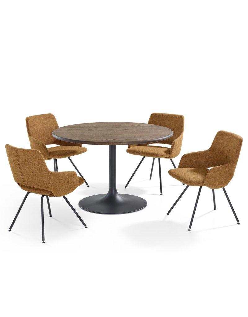 Artifort Artifort Clarion ronde tafel 75 hoog