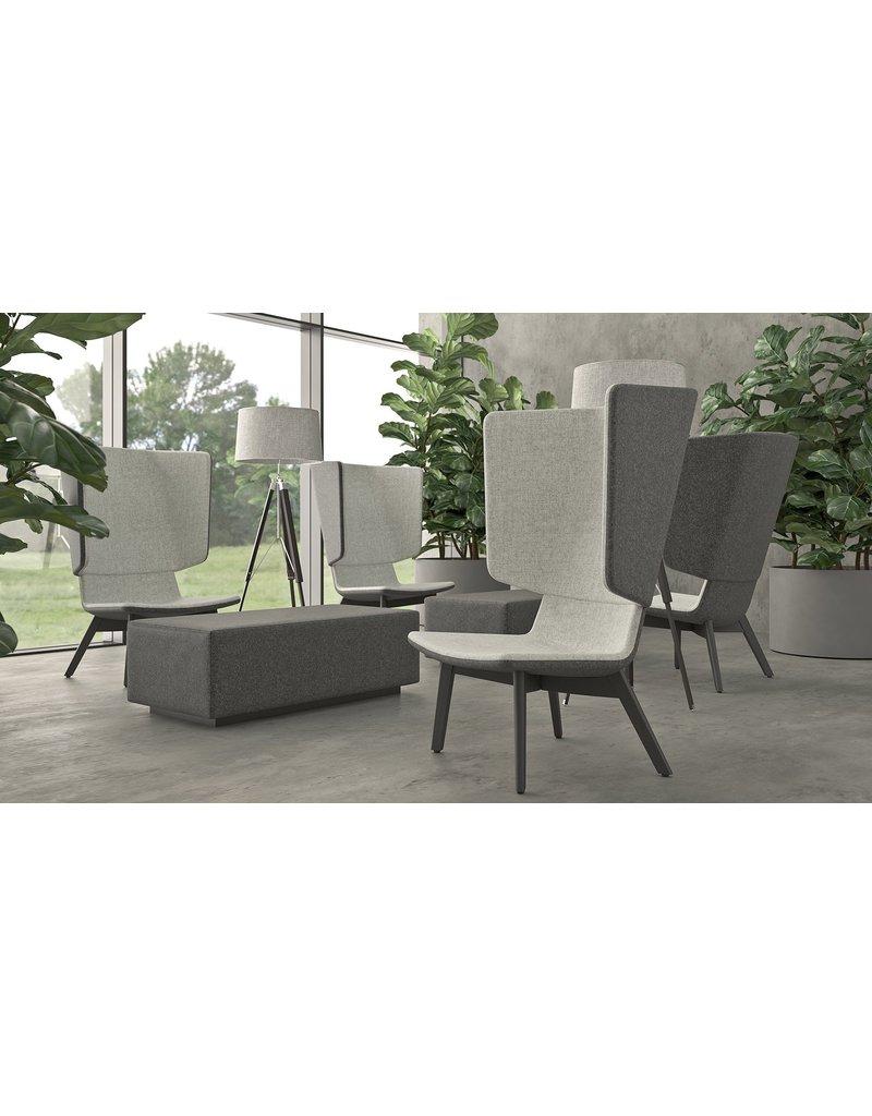 Narbutas Narbutas Twist&Sit akoestische lounge fauteuil