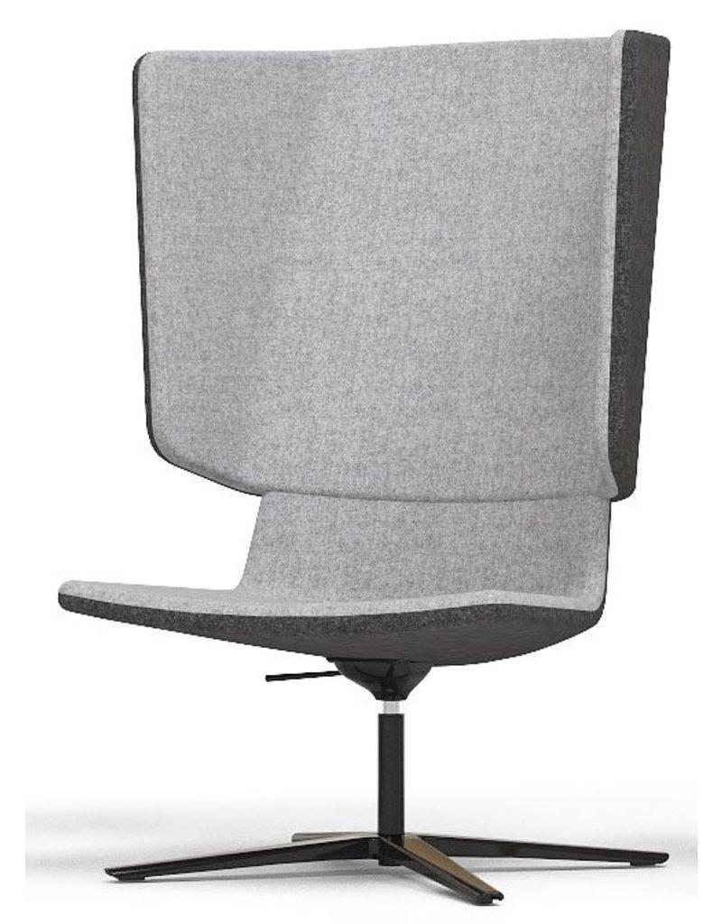 Narbutas Narbutas Tango draaibare akoestische lounge fauteuil