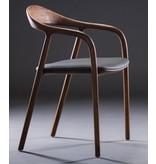 Artisan meubels Artisan Neva houten design eetkamer / restaurantstoel met kussen