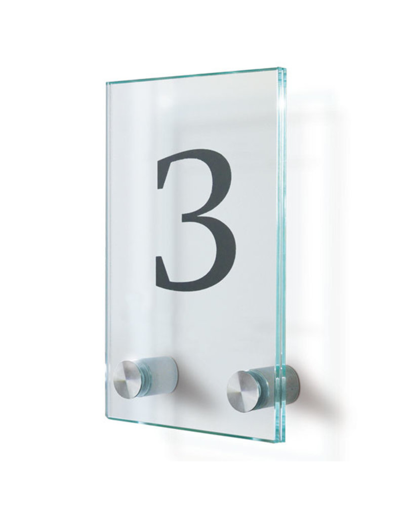 SignSystems SignSystems Cristallo glazen deurbordje