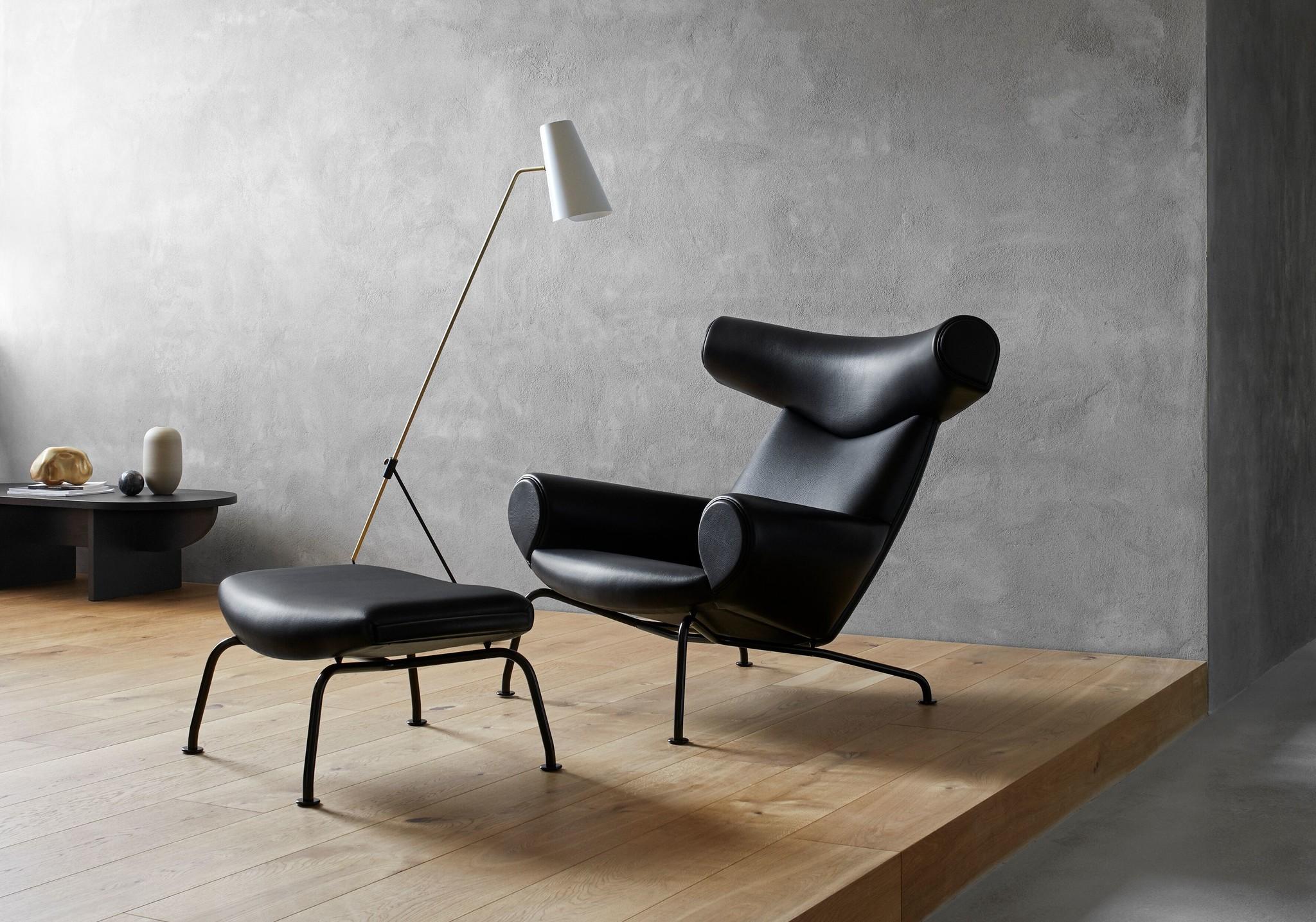 Design Stoel Lounge.Erik Jorgensen Ox Chair Lounge Stoel Design Online Meubels