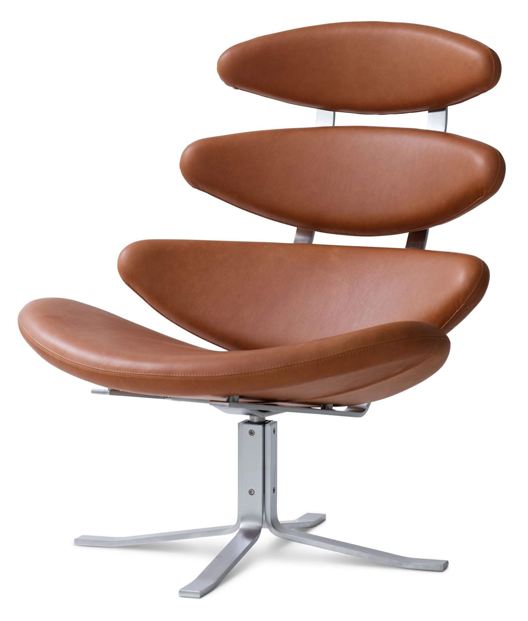 Leren Lounge Fauteuil.Erik Jorgensen Corona Lounge Stoel Design Online Meubels