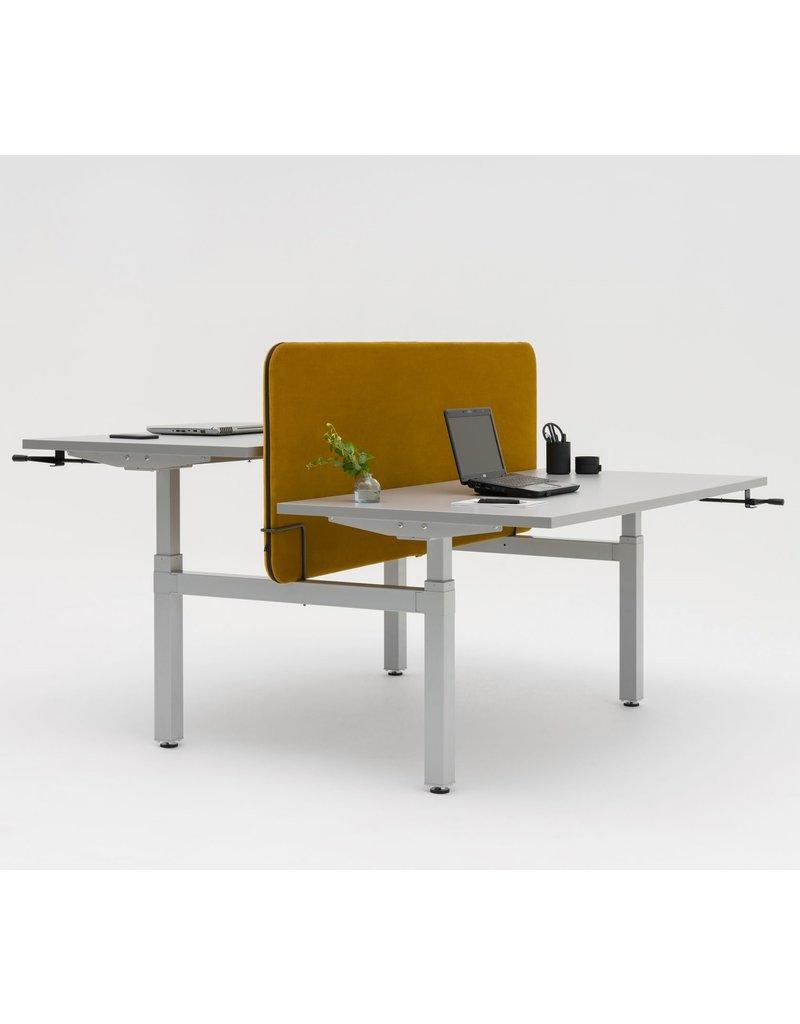 MDD MDD OGI Drive handmatig verstelbaar bureau-eiland 2-pers