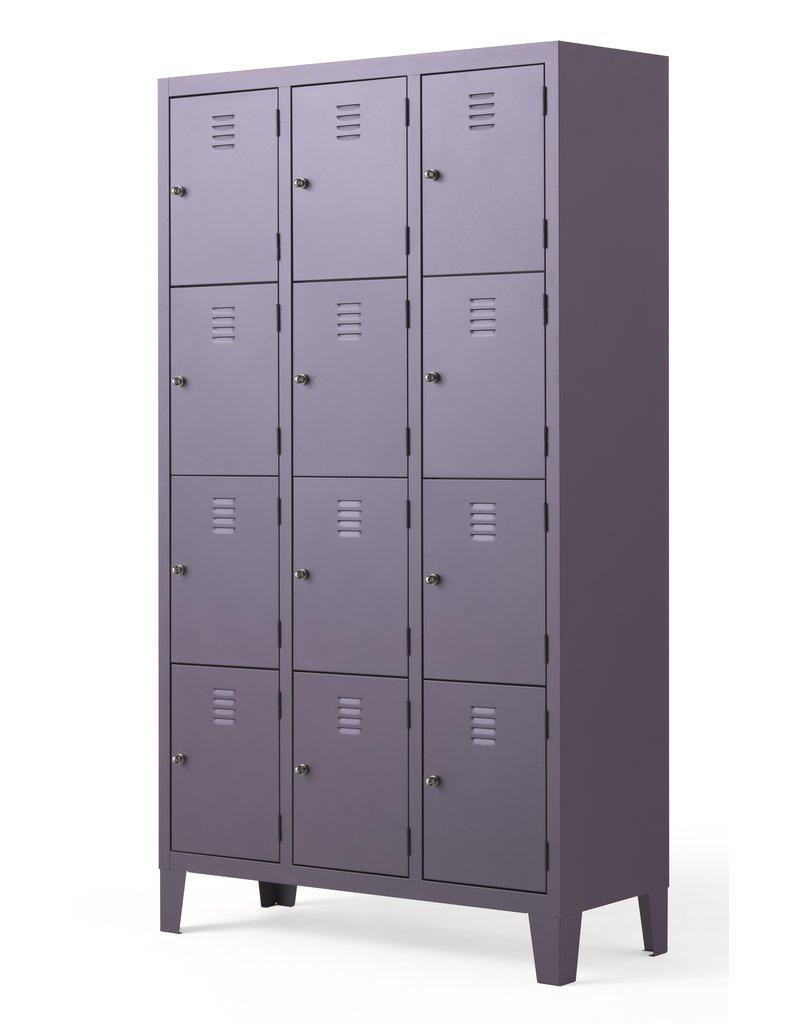Fantin Fantin Cambio metalen locker met 12 deuren