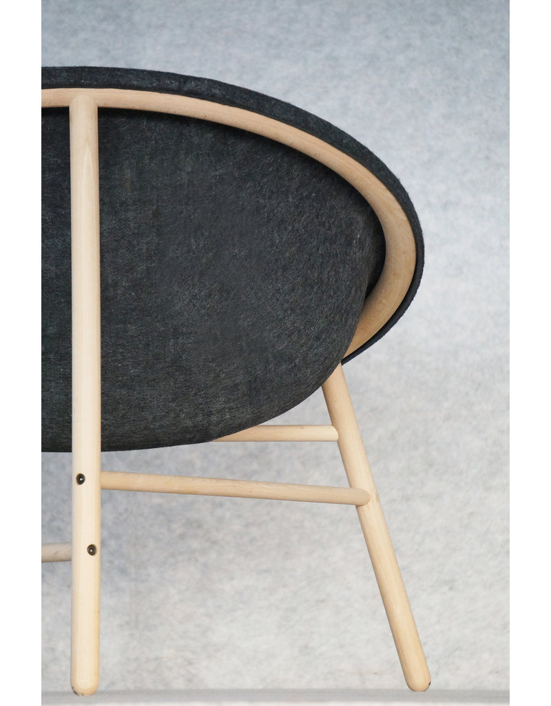 Donar Donar Collodi stoel van gerecycled materiaal