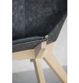 Donar Donar Nico Less W22 stoel van gerecycled materiaal