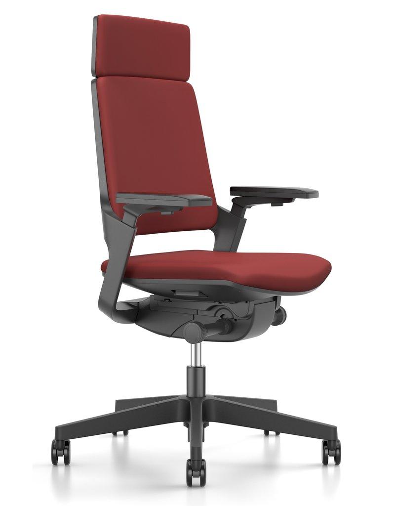 Interstuhl Interstuhl Movy bureaustoel, 3D armleuningen, verstelbare zitdiepte en lendensteun