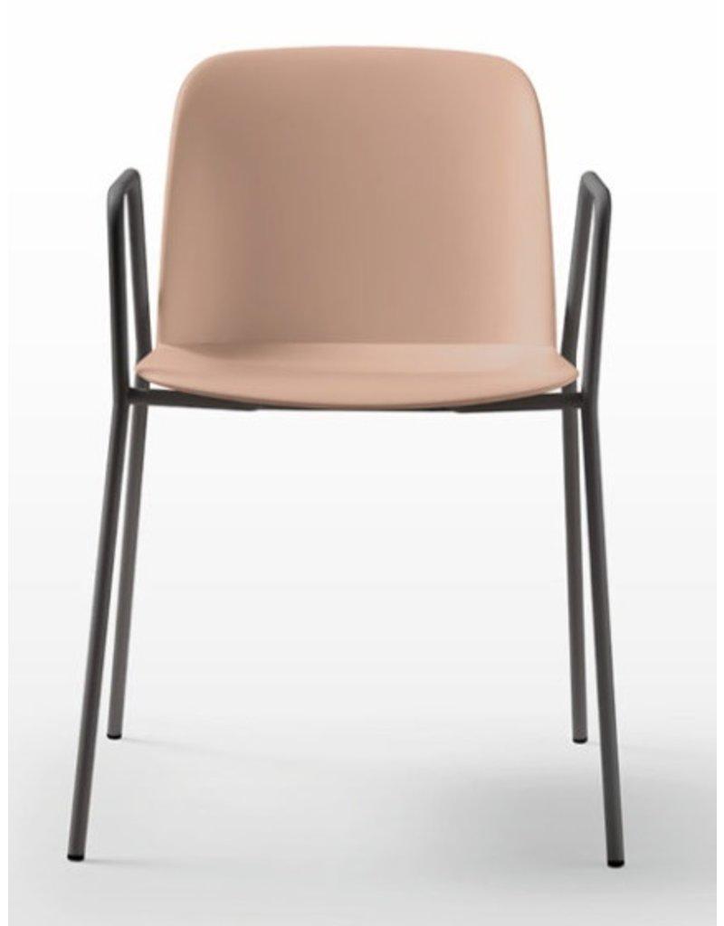 Quinti Quinti Deep Plastic stoel met 4 poten