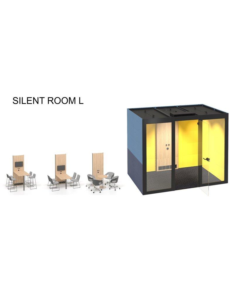 Narbutas Narbutas Silent room L akoestische werkruimte