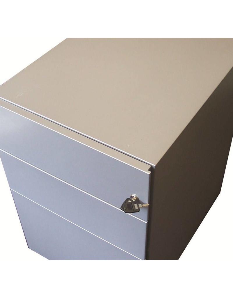 Bisley Bisley Basic verrijdbaar ladeblok 3 materiaalladen