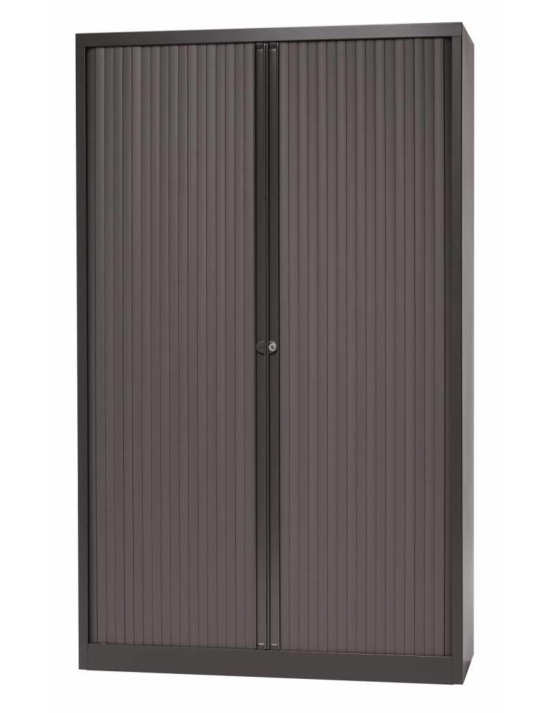 Bisley Bisley Basic kasten met roldeuren 120 cm breed, inclusief legborden
