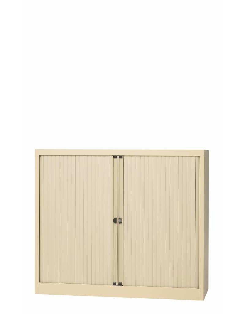Bisley Basic Kasten Met Afsluitbare Roldeuren 100 Cm Breed Inclusief Planken