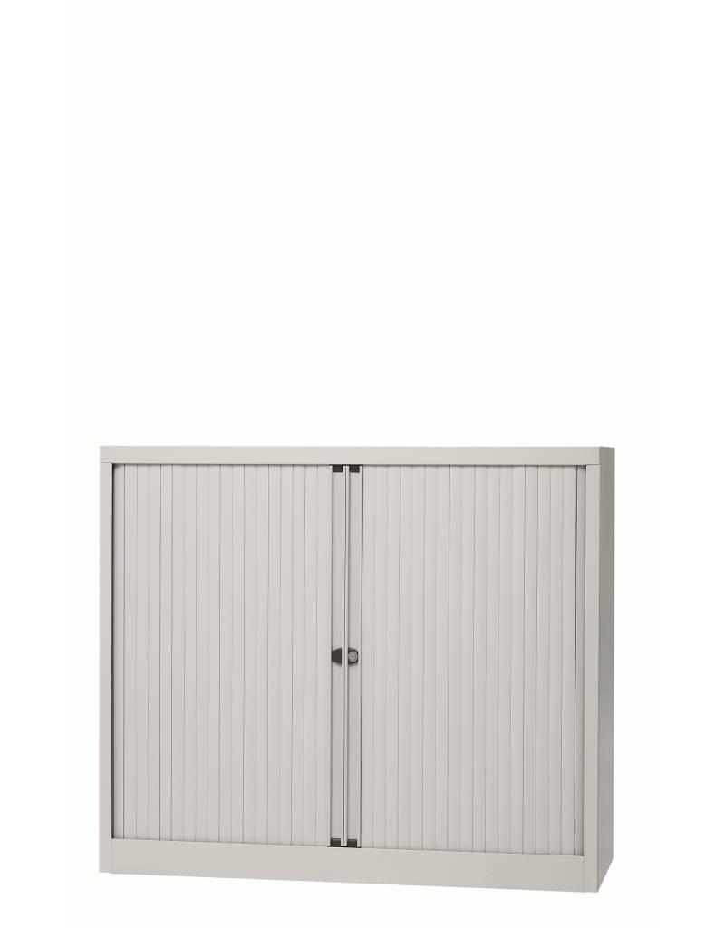 Bisley Bisley Basic kasten met afsluitbare roldeuren 100 cm breed, inclusief planken