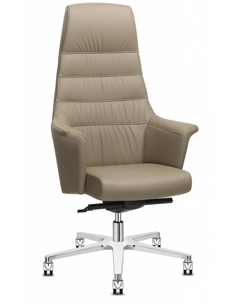 Sitland Sitland Of Course bureaustoel, leer, high back